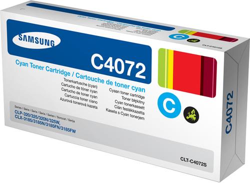 HP SAMSUNG TONER CIANO PER  CLP-325/CLP-320/CLX-3185 1000PG