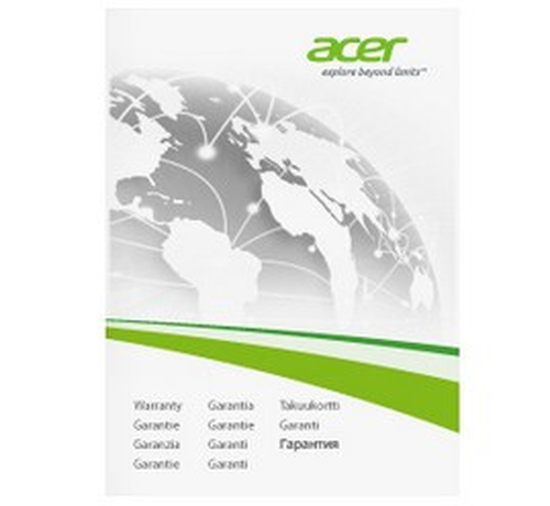 ACER ESTENSIONE DI GARANZIA A  3Y CARRY IN (1ST ITW) NOTEBOOK PROFESSIONAL - VIRTUAL BOOKLET