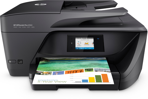 HP MULTIF. INK OJ PRO 6960 A4 30PPM FRONTE/RETRO ADF USB/ETHERNET/WIFI STAMPANTE SCANNER COPIATRICE FAX