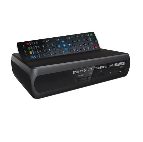 NEW DIGITAL DECODER DVBT-2 HEVC MAIN 10 HD