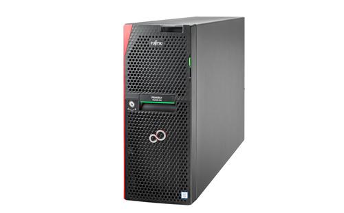 FUJITSU PY TX2550 M4 8 CORE XEON SIL 4114 10 CORE XEON SILVER 4114 2.2 GHZ    32 GB DDR4 RAM PRAID EP540I, RAID 5/6 2X800W HOT PLUG 8 X 2,5
