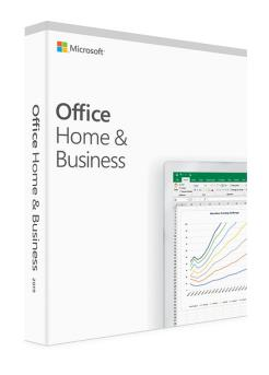 MICROSOFT OFFICE 2019 HOME  BUSINESS ENG EUROZONE MEDIALESS WIN 10 AND OSX