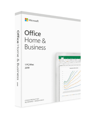 MICROSOFT OFFICE 2019 HOME  B USINESS ITA EUROZONE MEDIALESS