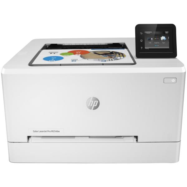 HP STAMP. LJ PRO M254DW A4 COLORI 21PPM 600DPI FRONTE/RETRO USB/ETHERNET/WIFI