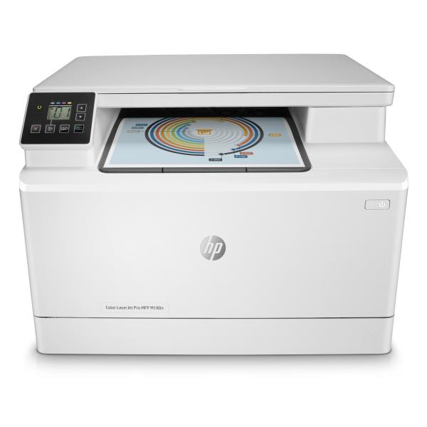 HP MULTIF.LASER M180N A4 COLORE 16PPM 600x600 DPI USB/ETHERNET STAMPANTE SCANNER COPIATRICE
