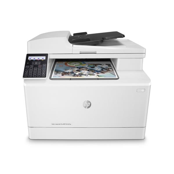 HP MULTIF.LASER M181FW A4 COLORE 16PPM 600DPI USB/ETHERNET/WIRELESS STAMPANTE SCANNER COPIATRICE FAX