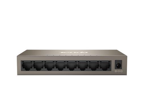 TENDA SWITCH 8 PORTE GIGABIT IEEE 802.3/U/X/AB, SWITCHING 16GBPS, PROTEZIONE VULMINI 6KV
