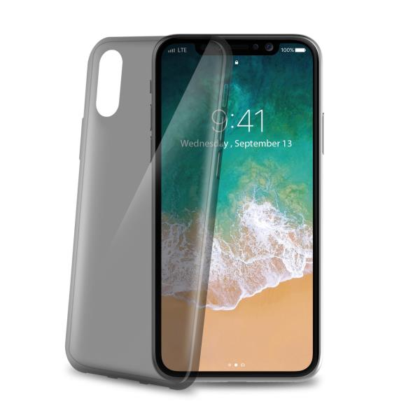 CELLY COVER IPHONE X THIN NERA