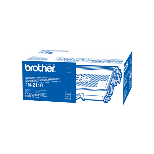 BROTHER TONER TN2110 DA 1500 PAGINE