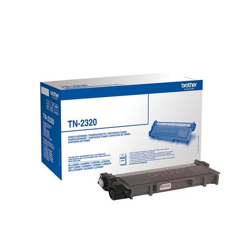 BROTHER TONER NERO 2600 PAG PER DCP-L2500D/L2540DN