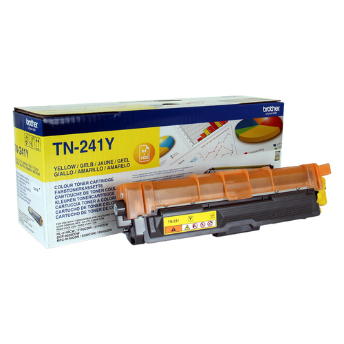 BROTHER TONER GIALLO 1.400 PAG PER DCP9020CDW - HL3140CW - HL3150CDW - HL3170CDW - MFC-9330CDW - MFC-9340CDW