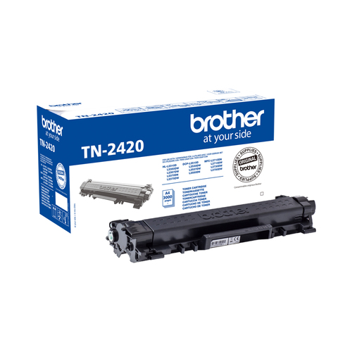 BROTHER TONER NERO PER HLL2310/DCPL2550/MFCL2710/MFCL2750 3000PAG
