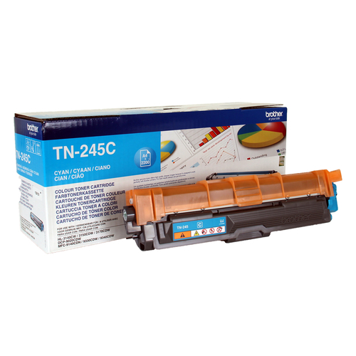 BROTHER TONER CIANO 2.200 PAG PER DCP9020CDW - HL3140CW - HL3150CDW - HL3170CDW - MFC-9330CDW - MFC-9340CDW