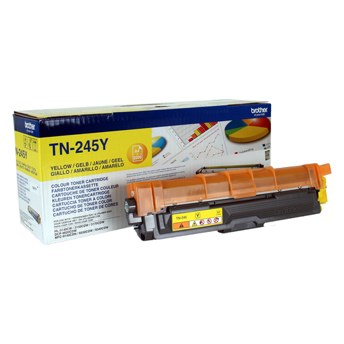 BROTHER TONER GIALLO 2.200 PAG PER DCP9020CDW - HL3140CW - HL3150CDW - HL3170CDW - MFC-9330CDW - MFC-9340CDW