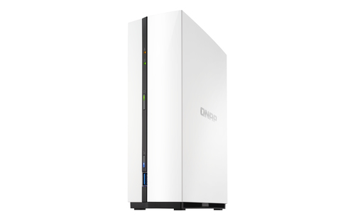 QNAP NAS DESKTOP 1BAY 3,5 1,4GHZ DC 1GB GIGALAN USB3.0