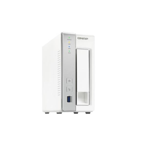 QNAP NAS TOWER 1 BAY 2,5/3,5 SATA3 AL212 1,70GHZ DC 1GB RAM GIGALAN USB3.0