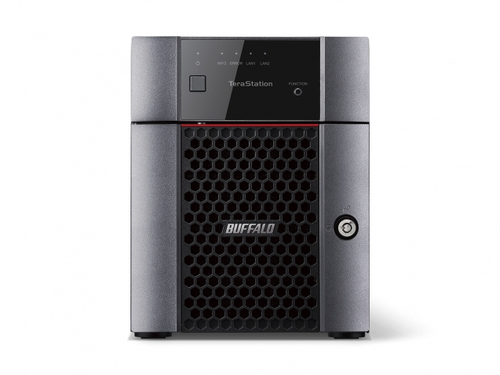 BUFFALO NAS TERASTATION 3410 DESKTOP 4X2TB HDD SATA GIGABIT ETHERNET USB2.0 E 3.0 1,40GHZ 1GB RAM DDR3