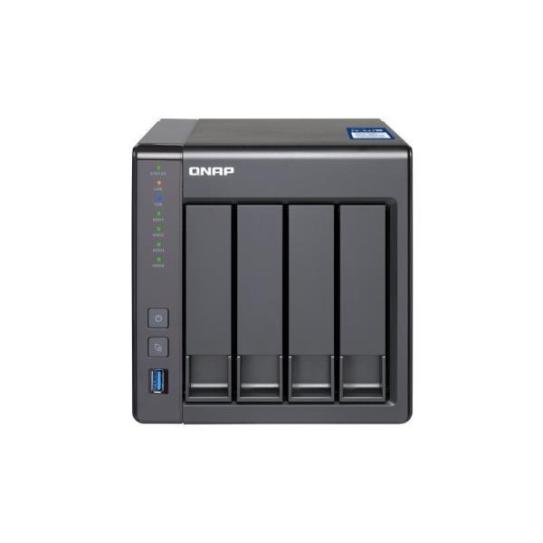 QNAP NAS TOWER 4 BAY 2,5/3,5 SATA3 AL212 1,70GHZ DC 2GB RAM DDR3L SODIMM (MAX 8GB) GIGALAN SFP+  USB3.0