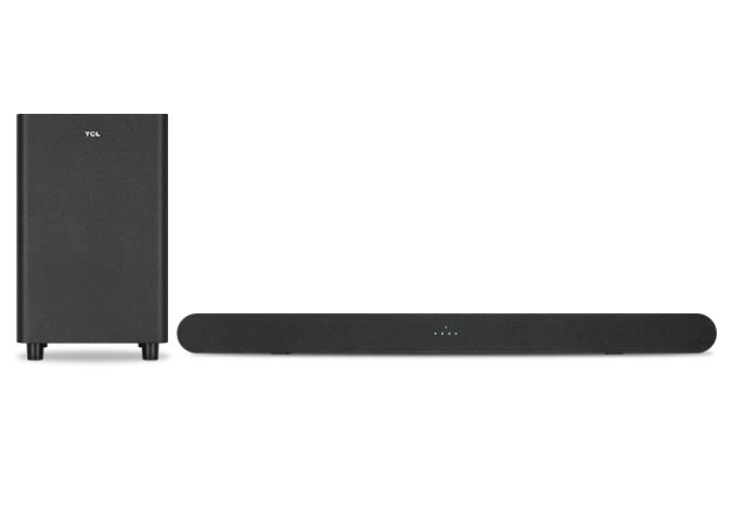 TCL SOUNDBAR 2.1 DOLBY DIGITAL 6 SERIES RANGE BLACK