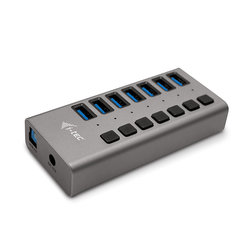 I-TEC CAVO USB 3.0 CHARGING HUB 7 PORT+ POWER ADAPTER 36 W