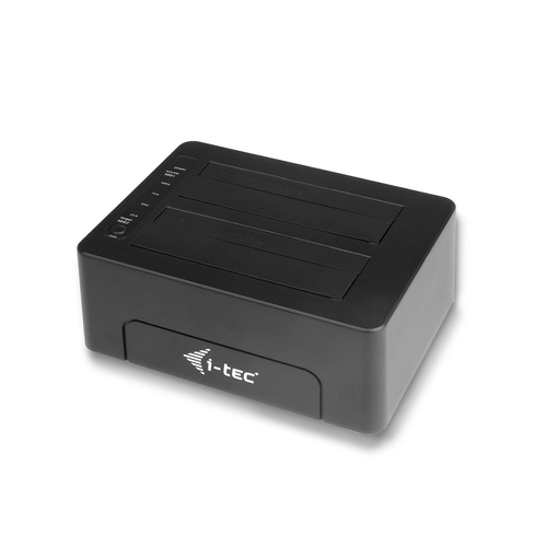 I-TEC DOCKING STATION 2X 2.5/3.5 HDD USB 3.0 WITH CLONE FUNCTION