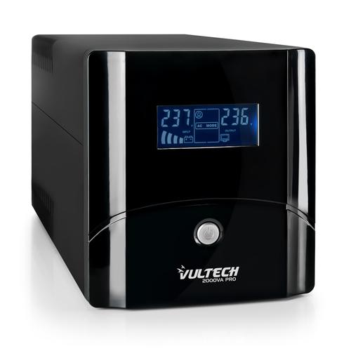 VULTECH UPS 2000VA PRO LINE INTERACTIVE CON LCD