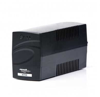 MACHPOWER UPS 600VA/290W 1x12V/4,5Ah, 2xOUTPUT, PLASTIC CASE