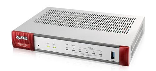 ZYXEL FIREWALL 5 PORTE GIGALAN 1 PORTA USB 1XSFP VPN 10IPSEC/L2TP  SSL