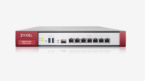 ZYXEL FIREWALL USG FLEX 200 SECURITY GATEWAY 4XWAN, 2XLAN, 2XUSB, VPN 40 IPSEC/L2TP, 60 SSL, AMAZON VPC, SSL INSPECTION, PCI DSS COMPLIANT, WLAN CONTROLLER 8 AP