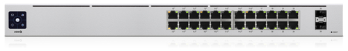 UBIQUITI SWITCH 24 PORTE GIGABIT POE MANAGED L2/L3 + SFP