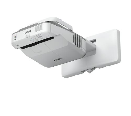 EPSON VIDEOPROIETTORE EB-685W OTTICA ULTRA CORTA WXGA - 16:10 - 3500LUMEN - USB/ETHERNET - HD READY - INCLUSI: TELECOMANDO, SUPPORTO PER MONTAGGIO A PARETE