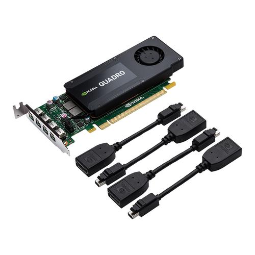 PNY VGA QUADRO K1200 DP KEPLER 512 CUDA CORES 4GB GDRR5 MINI DP 1.2