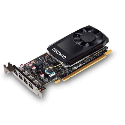 PNY VGA QUADRO P1000 DVI PASCAL 640 CUDA CORES 4GB GDDR5 LOW PROFILE