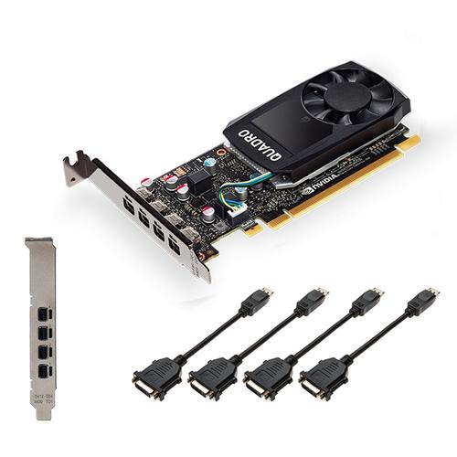 PNY VGA QUADRO P620DVI V2 2GB CUDA CORES GDDR5 DP LOW PROFILE