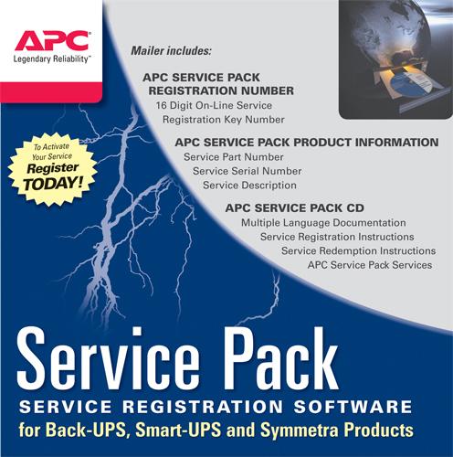 APC EST. GAR. 1 ANNO SERVICE PACK SMX/SRT/SUA/SURT (SOLO ALCUNI MODELLI)