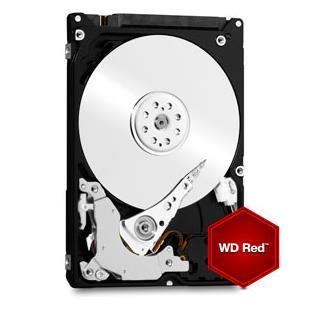 WESTERN DIGITAL HDD RED 1TB 3,5 5400RPM SATA 6GB/S 64MB CACHE