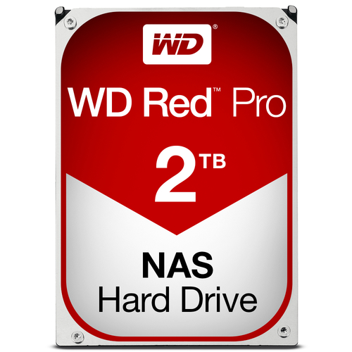 WESTERN DIGITAL HDD RED PRO 2TB 3,5 7200RPM SATA 6GB/S 64MB CACHE