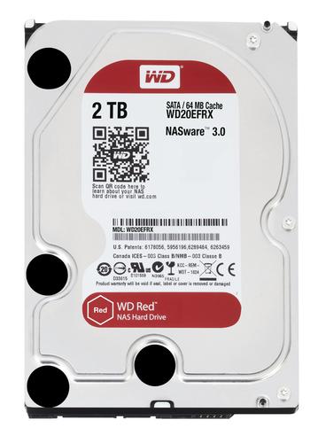 WESTERN DIGITAL HDD RED 2TB 3,5 INTELLIPOWER SATA 6GB/S 64MB CACHE