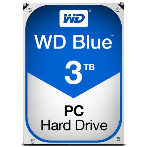WESTERN DIGITAL HDD BLUE 3TB 3,5 5400RPM SATA 6GB/S 64MB CACHE