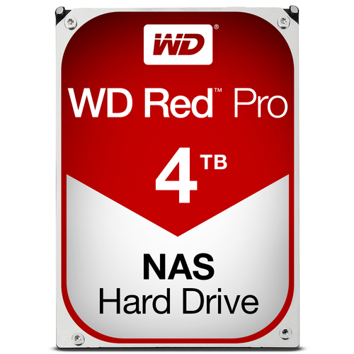 WESTERN DIGITAL HDD RED PRO 4TB 3,5REFURBISHED GARANZIA 1 ANNO