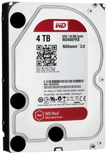 WESTERN DIGITAL HDD RED 4TB 3,5