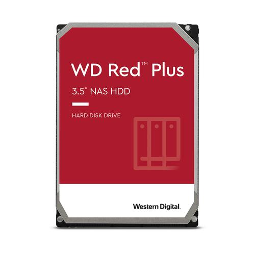 WESTERN DIGITAL HDD 4TB RED PLUS 3,5