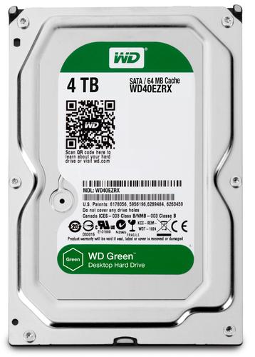 WESTERN DIGITAL HDD GREEN 4TB 3,5 REFURBISHED GARANZIA 1 ANNO