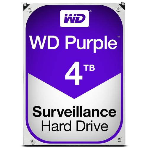WESTERN DIGITAL HDD PURPLE 4TB 3,5 REFURBISHED GARANZIA 1 ANNO
