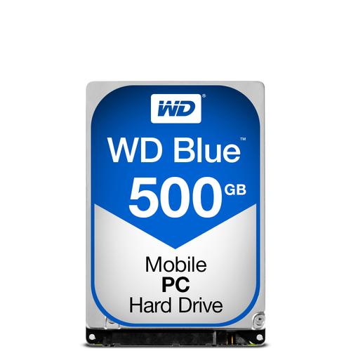 WESTERN DIGITAL HDD BLUE 500GB  2,5 5400RPM SATA 6GB/S
