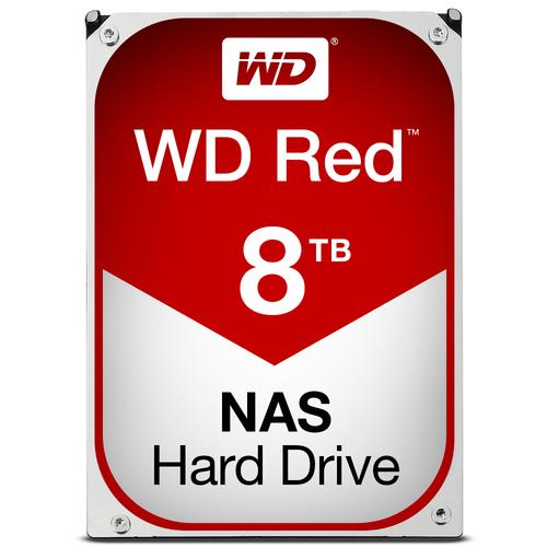 WESTERN DIGITAL HDD RED 8TB 3,5 5400RPM SATA 6GB/S 256MB CACHE