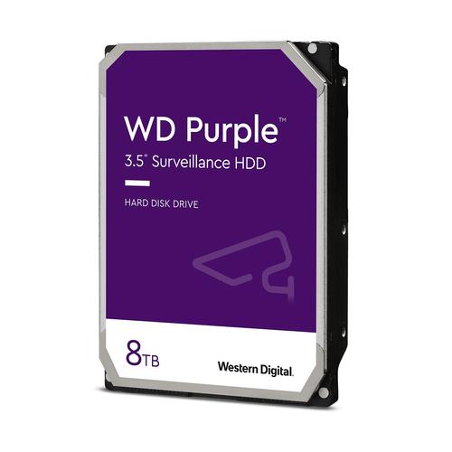 WESTERN DIGITAL HDD PURPLE 8TB 3,5 SATA III 6GB/S