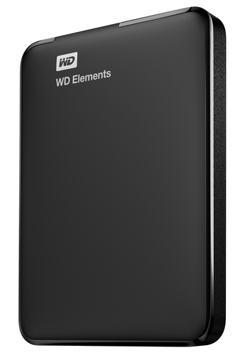 WESTERN DIGITAL HDD ELEMENTS PORTABLE 1TB USB3.0 2,5 5400
