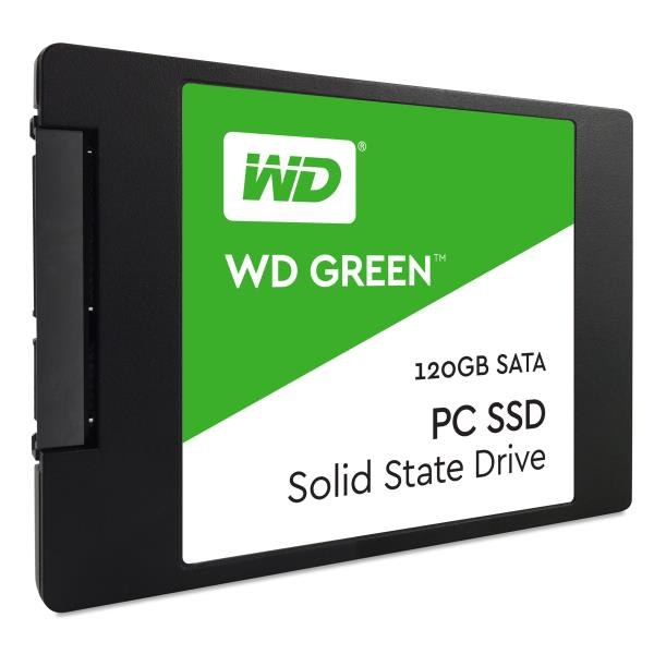 WESTERN DIGITAL SSD GREEN 120GB 2,5