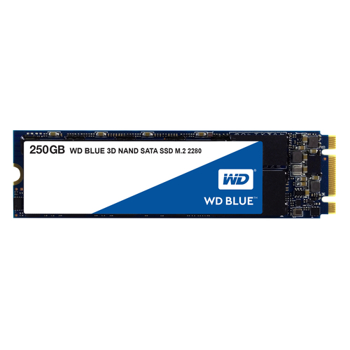 WESTERN DIGITAL SSD BLUE 250GB M.2 2280 SATA3 550/525 MB/S